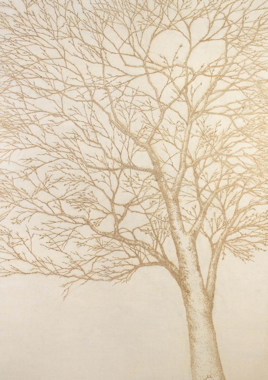 pointillism-incense-stick-burn-rice-paper-jihyun-park-17