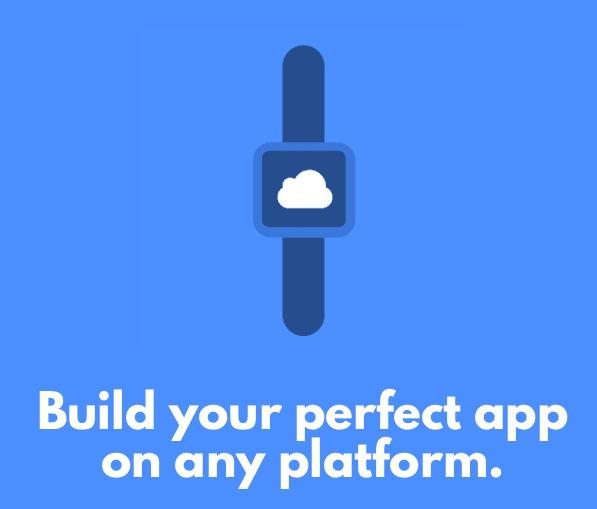 編譯:在任何平台上打造完美應用。圖片來源:官網截圖
