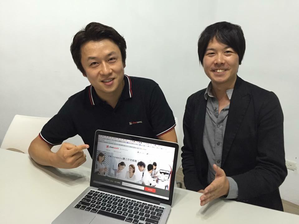 左起:執行長山本敏行、行銷部台灣區負責人川村真史
