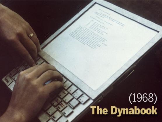 1960年的概念產品 Dynabook