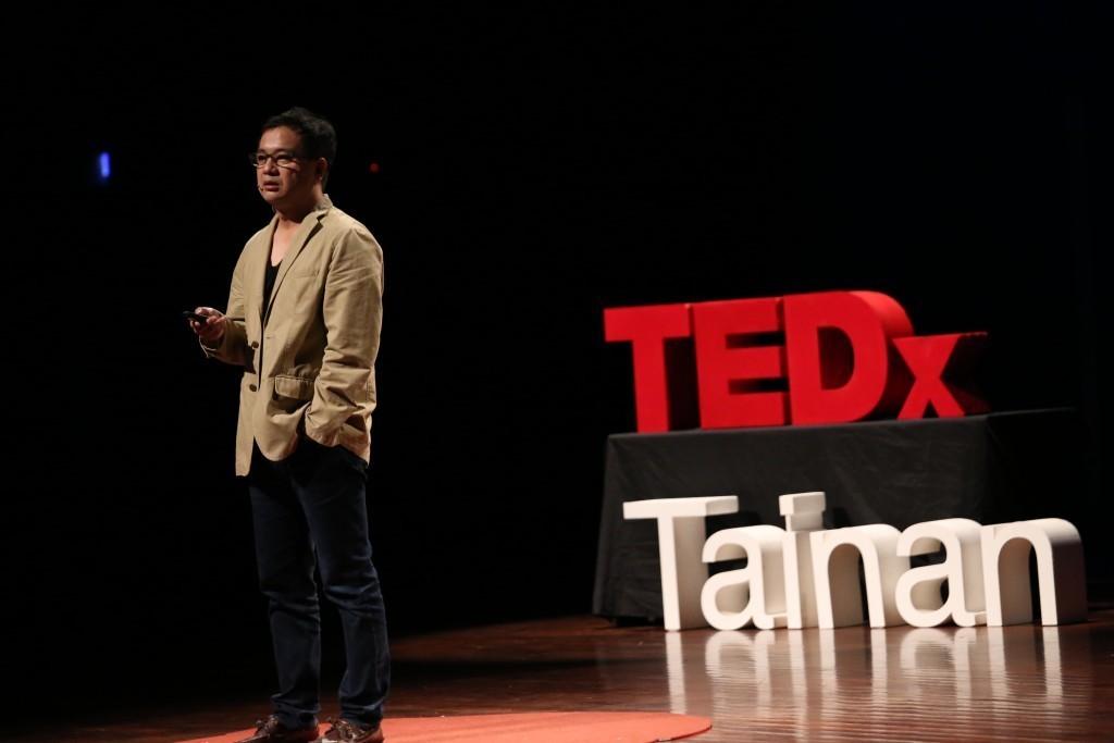 顏世樺希望年輕人對自身所在的城市可以有新的想法 (圖片來源:TEDxTainan 攝影部)