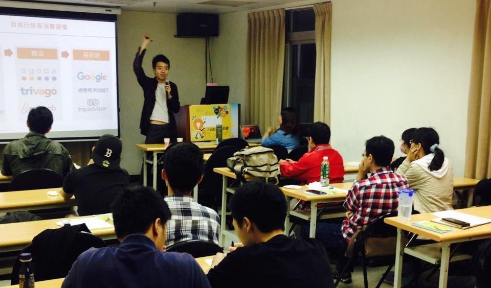 Klook 公關劉冠宏與滾出趣創意生活創辦人許鈺煊分享他們的旅遊創新