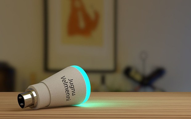 Li-Fi 是一種以可見光通訊(VLC)高速網路傳輸的科技,Velmenni 日前在業界進行實測,並取得傳訊速度 1 GBps的驚人成果。圖片來源: Velmenni 官網截圖
