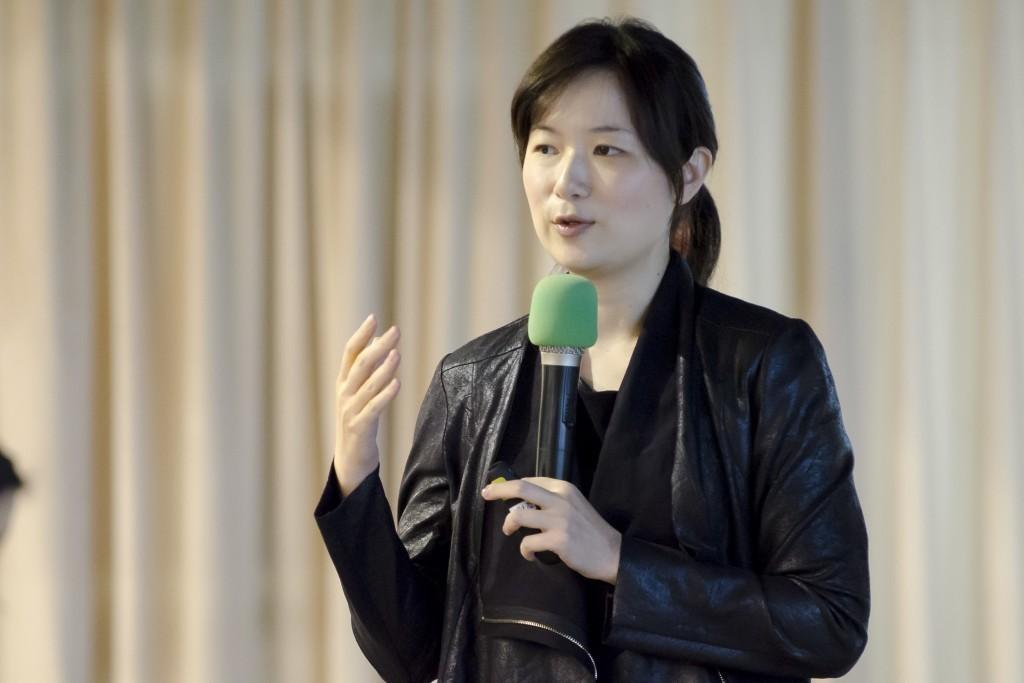 500 Startups 的駐台代表程希瑾和大家分享創業團隊面對資方的注意重點