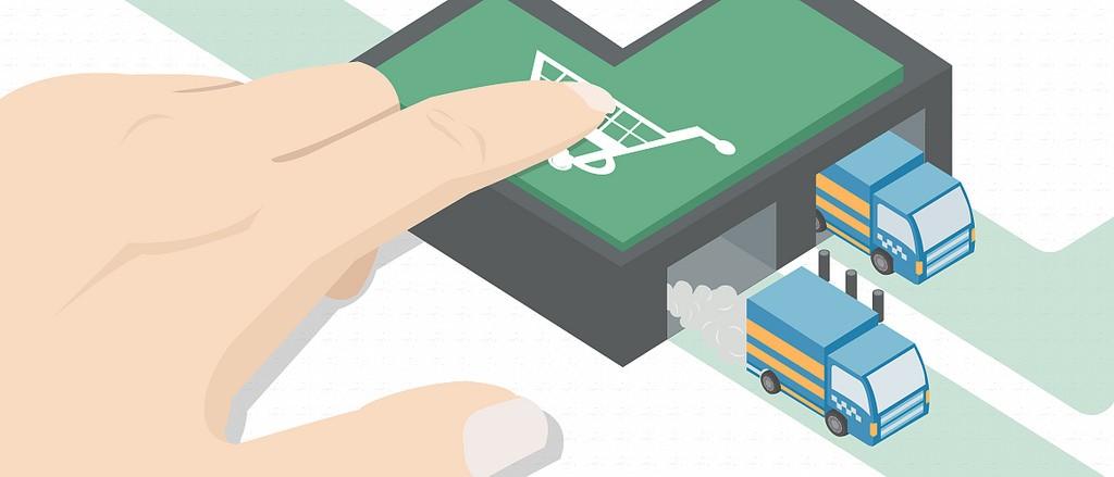 同時經營線上與線下店面的賣家,常會在調貨上互相衝突 (photo via Tech in Asia@flickr, CC License)