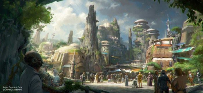 Star War Land 概念圖