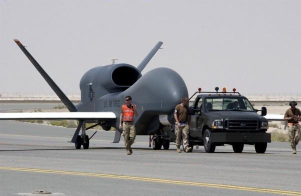 圖片來源:RQ-4全球鷹偵察機 Wiki