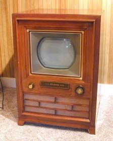CT-100,RCA 最早期的彩色電視型號,1954