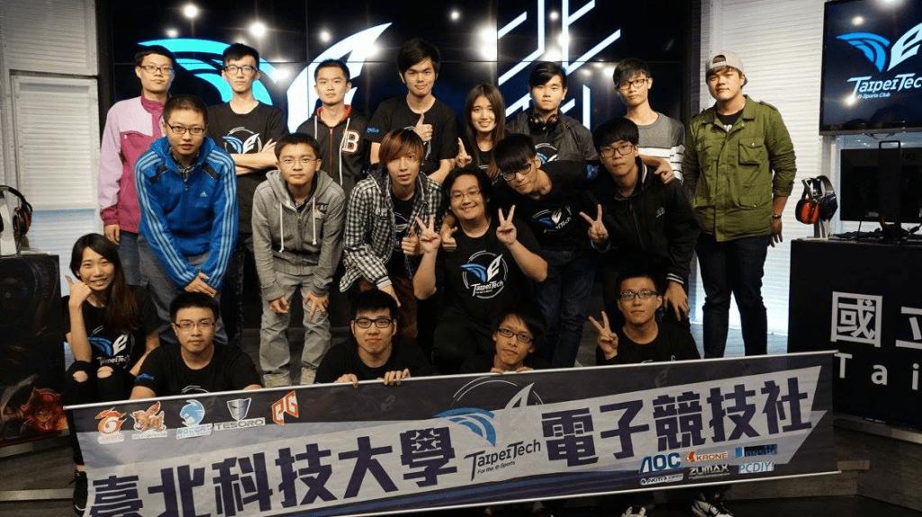 台北科技大學校園 E-Sport 電競聯賽在 ESR live 舉辦