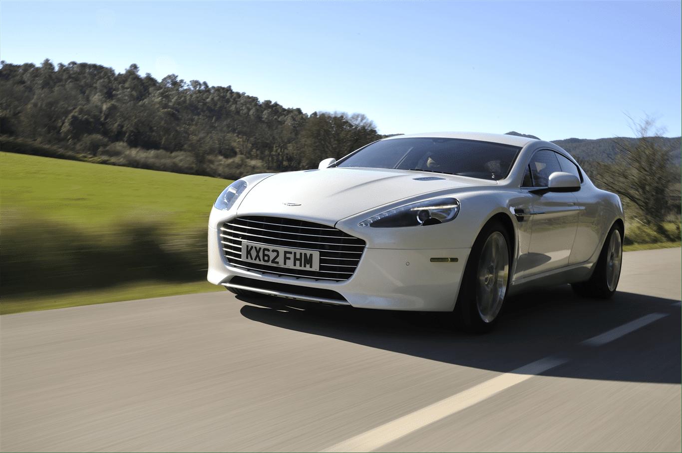 Aston Martin 要和樂視及法拉第未來合作,打造以 rapide S 跑車為原型的電動車。圖片來源:Aston Martin
