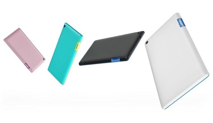 Levono 在 MWC 推出大眾導向的Tab3 7 和 3 8,以及針對企業戶的Tab3 10 圖片來源:Levono