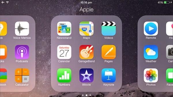 只有 iPhone6 Plus 才有的橫向顯示
