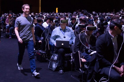 或許宗教法會是 VR 社交的唯一解?(圖片來源:Mark Zuckerberg Facebook)