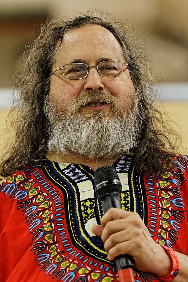 Richard Stallman,2014。 圖片來源: Wikipedia