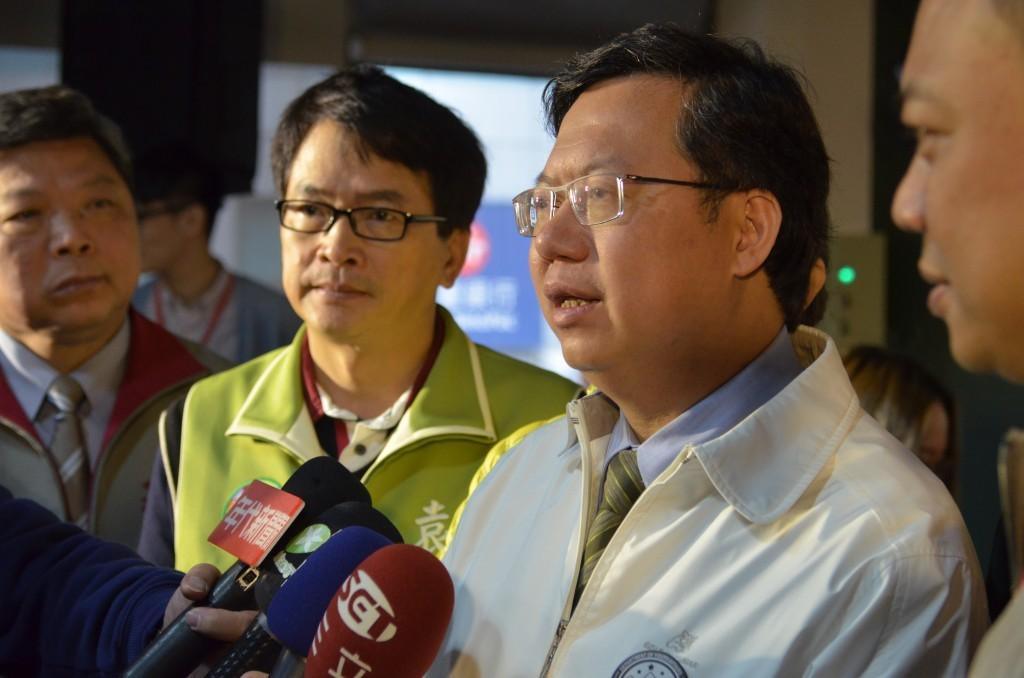 鄭文燦市長期望桃園成為台灣的青年創業基地