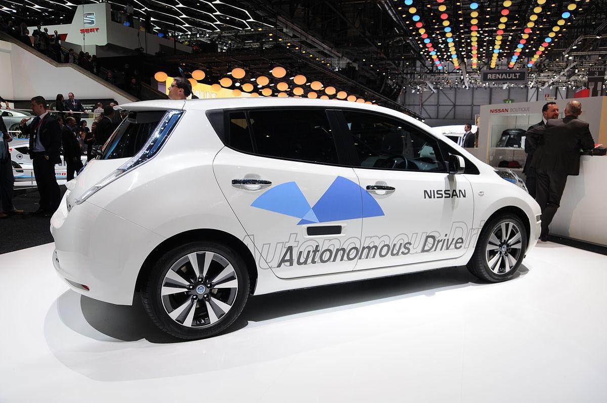 日本自動駕駛技術原來是各做各的,如今由政府領軍,集合 6 大車廠與 6 大零件供應商,全力投入自駕車領域。圖片來源:Norbert Aepli, Switzerland@wikipedia, by CC 3.0