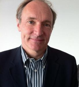 Tim Berners-Lee,2012。圖片來源:Wikipedia