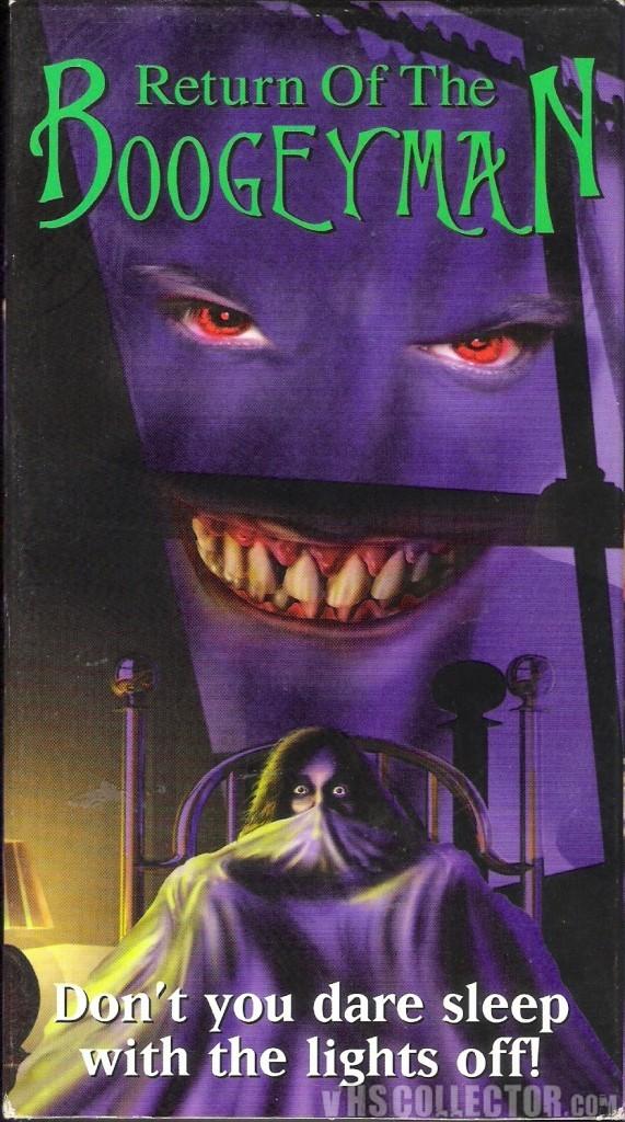 也曾發行 DVD 版本的小成本恐怖片《夜魔的回歸 Return of the Boogeyman》圖片來源:vhs collector