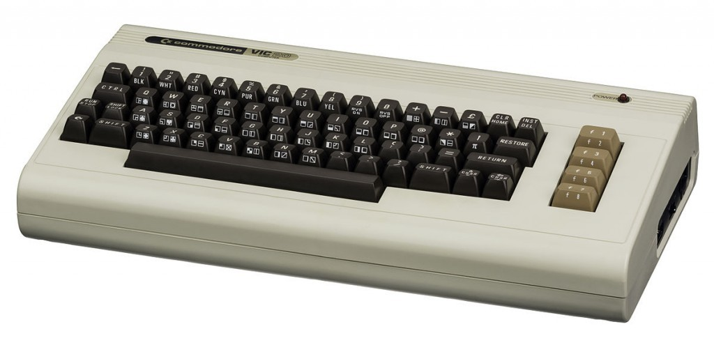 Commodore VIC 20 個人電腦。圖片來源:Wikipedia