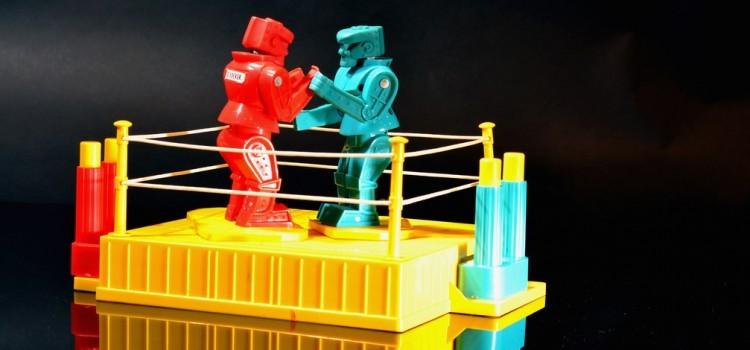 機器人專題(五)/機器人對決不是夢!現實版鋼鐵擂台現正熱映中