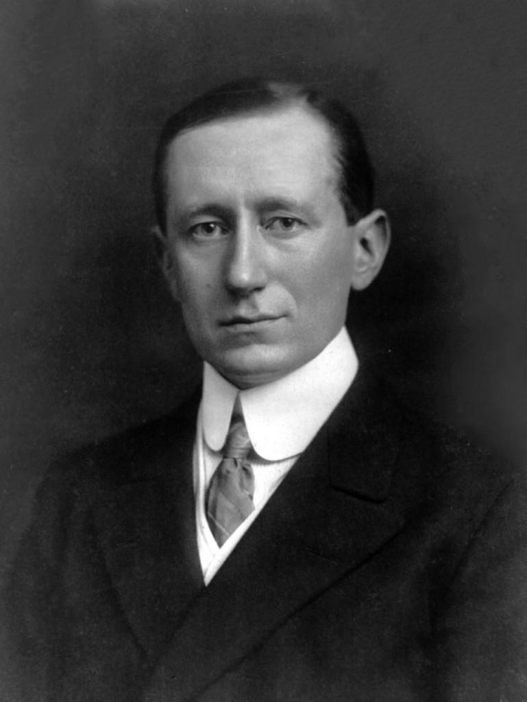 Guglielmo Marconi。圖片來源:Wikipedia
