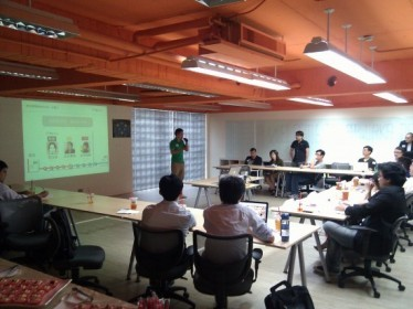 AppWorks Demo Day #1,圖片來源:MR JAMIE。