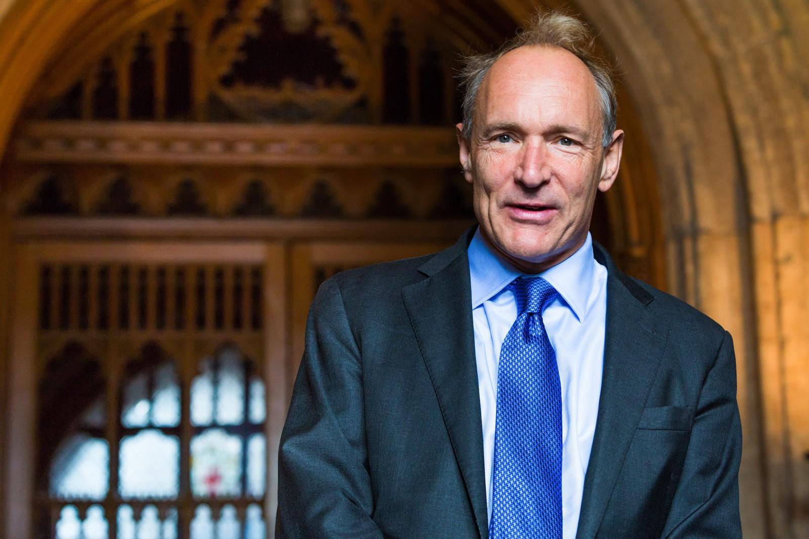 全球資訊網的發明人 Tim Berners Lee 圖片來源:Paul Clarke@wikipedia, by CC 4.0