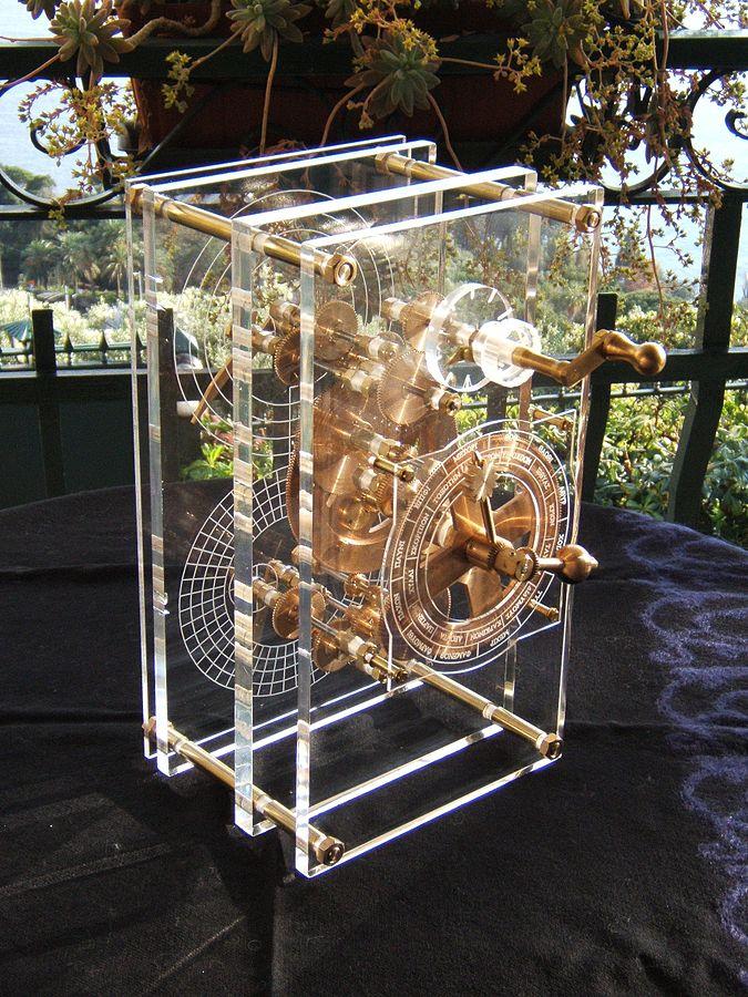 2007 年的一架安堤基特拉機械重建模型。 圖片來源:Wikipedia