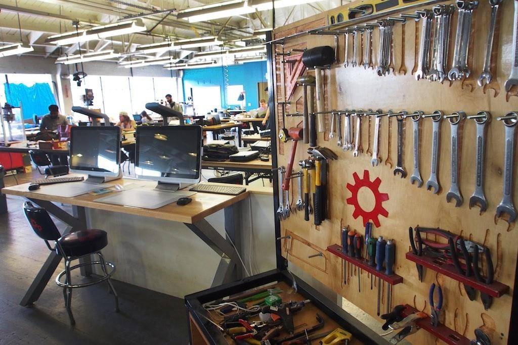 Techshop是全球Makerspace的發源地。圖片來源:MakerPRO