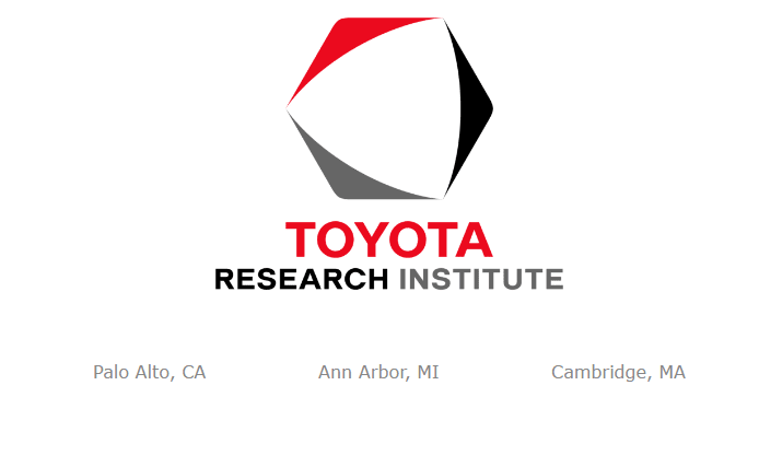 圖片來源: Toyota Research Institute官網截圖