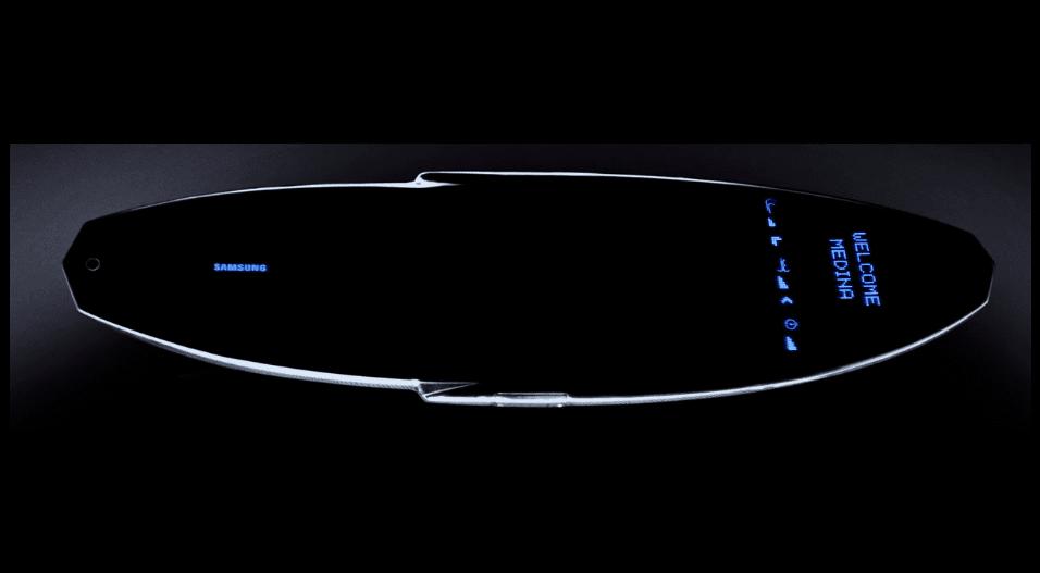 圖片來源:SAMSUNG GALAXY SURFBOARD
