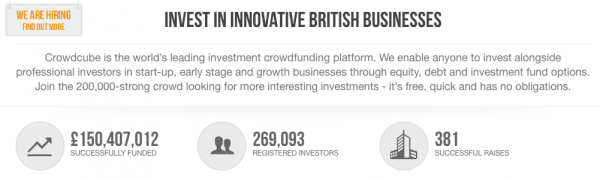 Photo from Crowdcube website