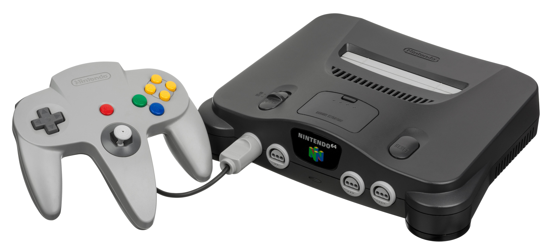 任天堂 64 的控制器給遊戲主機帶來革命性變化。圖片來源:Wiki