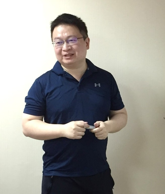Ming-Ta Li, the founder and president of LEADERG
