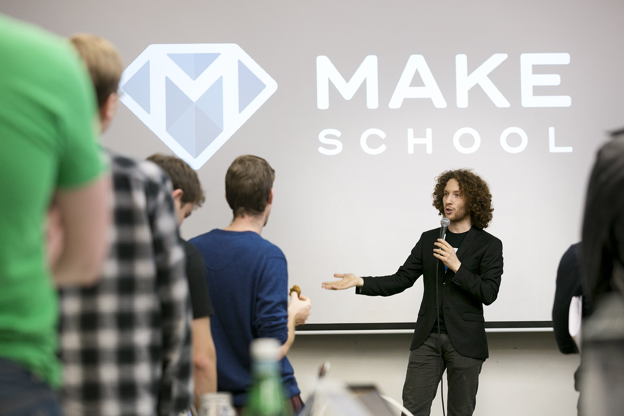 Jeremy Rossmann 是 Make School 的共同創辦人。圖片來源:Make School。