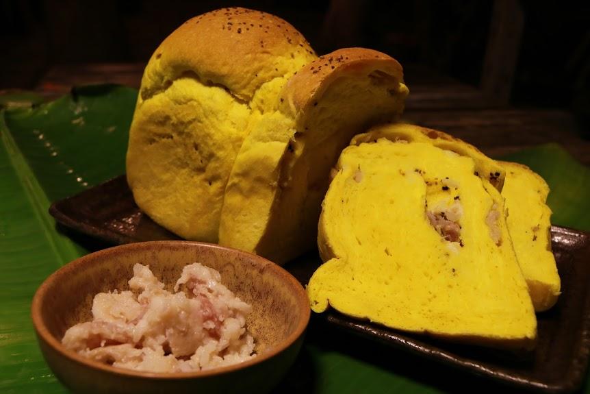 「深山裡的麵包店」的招牌:薑黃醃肉吐司(照片來源:深山裡的麵包店)