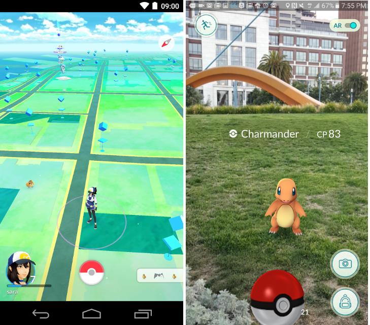 圖片來源:Pokémon GO