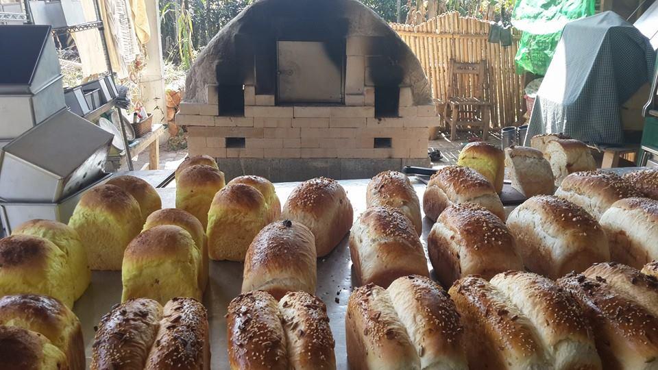 知名烘焙職人吳克己帶領族人募資建置的「願景窯」(照片來源:深山裡的麵包店)