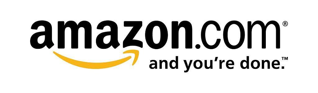亞馬遜 Logo,從 A 指向 Z 的微笑代表了包山包海的企業版圖圖片來源:Wikimedia。