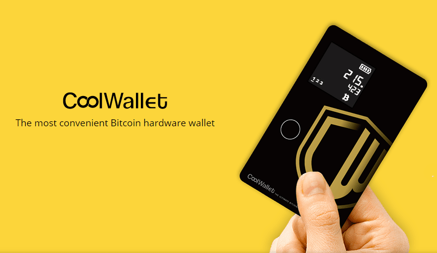 CoolBitX 的主要商品 CoolWallet(圖片截自 CoolBitX Technology)