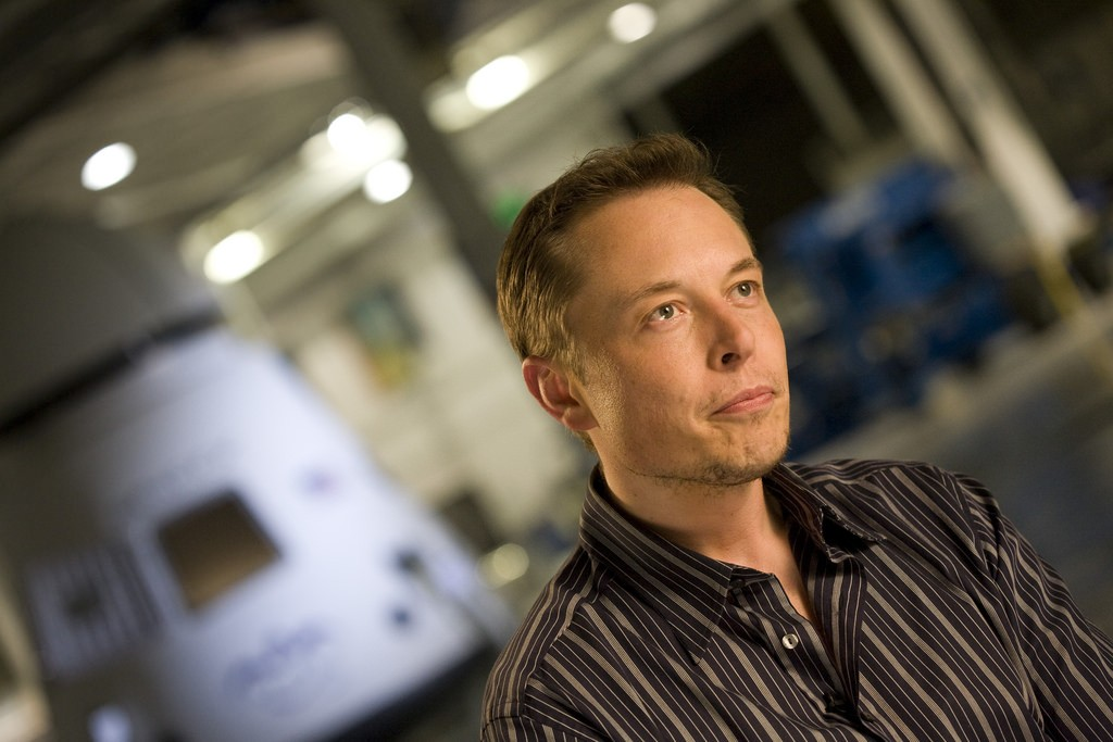 Elon Musk。圖片來源: OnInnovation@flickr, by CC 2.0