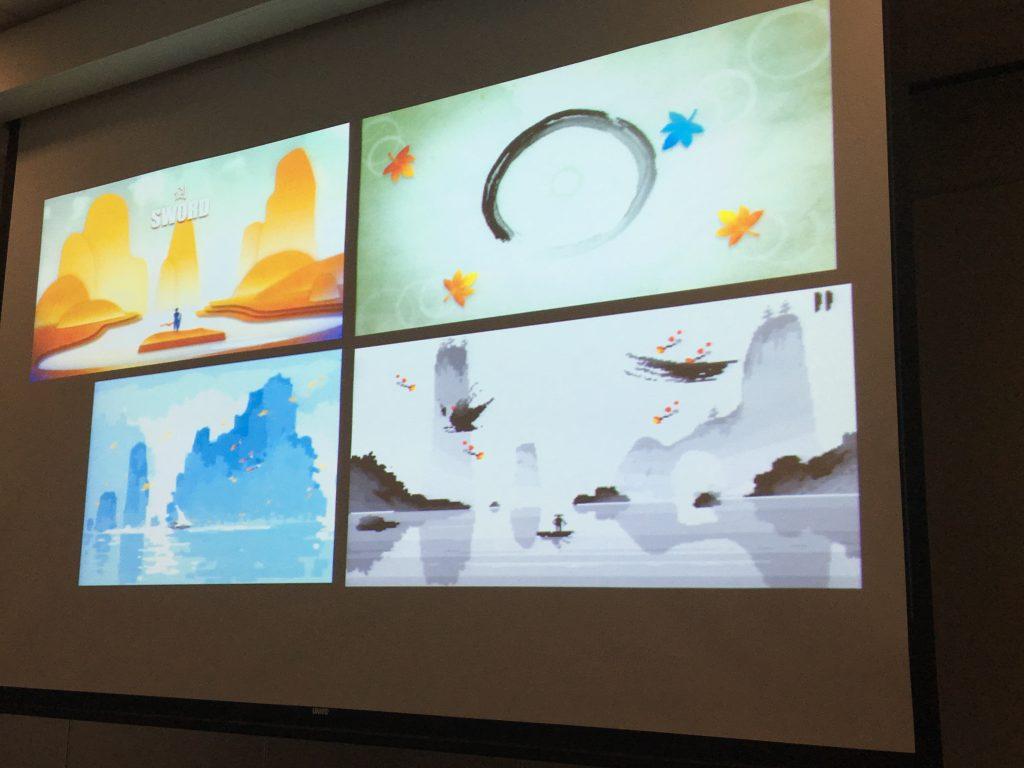 《說劍》美術設計過程,圖片來源:Lafu 攝。