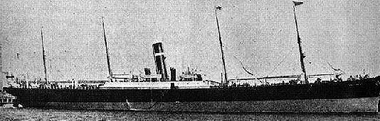 SS Montrose 號,圖片來源:Wikimedia。
