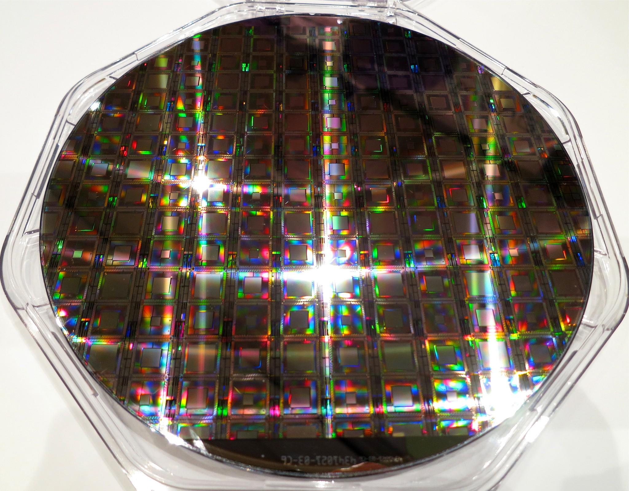 D-Wave 量子處理器。圖片來源:Steve Jurvetson@flickr, by CC 2.0