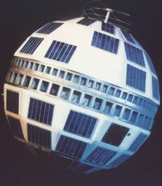Telstar 1 衛星。 圖片來源:Wikipedia