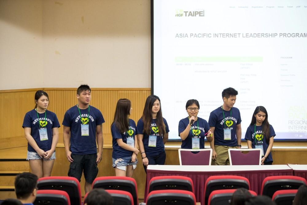 今年 YIGF 積極參與工作坊討論,來自台灣、菲律賓、馬來西亞等國家的年輕人齊聚一堂,探索新的道路。圖片來源:APrIGF