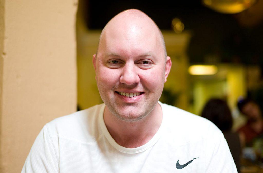 網景創辦人之一安德森(Marc Andreessen),圖片來源:Wikimedia。