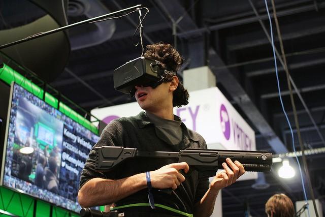 「頭部感測」在槍戰遊戲中尤其重要。圖片來源:Maurizio Pesce @flickr , CC 2.0