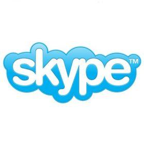 Skype 的 Logo。圖片來源:Wikipedia