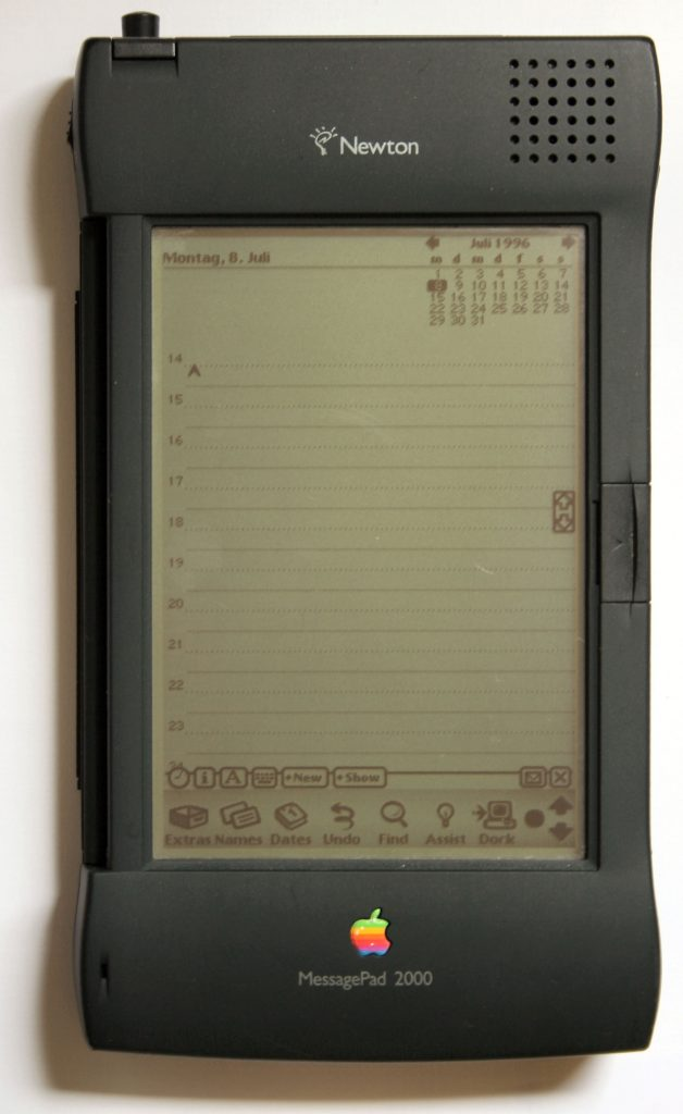 Newton MessagePad 2000。圖片來源:Wikipedia